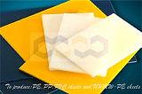 Feuille non toxique de PE de résistance de l'impact avec la couleur blanche de noir bleu
