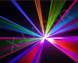 1800MW het rode Groenachtig blauwe Bewegende HoofdLicht van de Laser van de Laser Lichte, Roterende