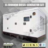 генератор 180kVA 50Hz звукоизоляционный тепловозный приведенный в действие Perkins (SDG180PS)
