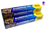 di alluminio della famiglia del commestibile di 8011-O 0.008mm per i pesci di torrefazione
