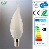 Nueva bombilla de bulbo del item 3000k 4W LED C37 C35