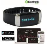 OEM de Armband van het Horloge van het Tarief van het Hart van Bluetooth van de Drijver van de Fitness van de Gezondheid van Sporten