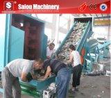 Lijn van de Machine van het Recycling van de Was van het Huisdier van het afval de Plastic Verpletterende