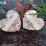 Bloc-notes 2016 de papier d'emballage de forme de coeur de cadeaux de promotion petit