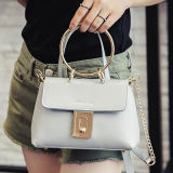 Sac à main Sy7755 de femmes de couleur solide de sacs de dames de traitement de cercle de sacs à main de créateur