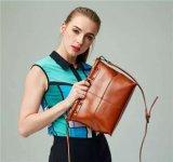 Pure Oil Wax Classic Bolsa de couro genuíno para mulheres