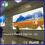 Flughafen Large Advertizing Light Boxes mit Snap Aluminum Frame