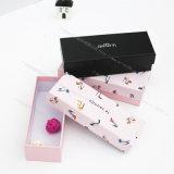 Steifer Geschenk-Papierkasten mit dem Bogen gebunden auf der Kappe, Cmyk Drucken, geeignet für das Geschenk-Packen