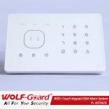 Het draadloze GSM Alarm van Secuirty van het Huis met het Toetsenbord van de Aanraking en Kaart RFID --Yl-007m2g