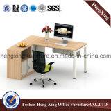 금속 구조 사무용 가구 멜라민 사무실 테이블 컴퓨터 테이블 (HX-6D029)