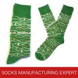 Socke der Männer mit glücklicher Socken-Art (UBM1047)