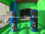 Neues Design Paw Dog Inflatable federnd Castle für Kids
