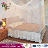 Quadrate 100%年のポリエステル物質的な蚊帳