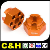 Части алюминия CNC OEM Китая подвергая механической обработке анодируя/Steel/Brass/Plastic