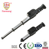 Teleskopisches Stun Guns mit Flashlight und Alarm für Sicherheitsbeamten (TW-09)