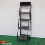 Estante plegable industrial de la escala del metal del estante del almacenaje de la vendimia
