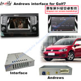 720p/1080P Rearview System Android Navigation Video Interface Compatible com Volkswagen 2015 Passat, Nmc (Lamando), Golf 7, Skoda