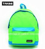 Sac de sac à dos de couleur de contraste de couleur de sucrerie pour l'école, course, loisirs