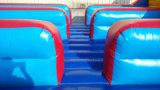 парка атракционов спортивной площадки 10.7X4.6X1.2m, котор Bungee напольного раздувной побежали для 3 игроков