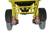 Faltender behinderter Strom-Rollstuhl