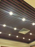 معدن سقف ألومنيوم مربّعة أخدود لوح سقف