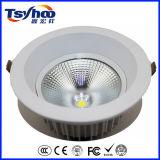 Ugr 낮은 12W 20W 30W 높은 루멘 알루미늄 옥수수 속 천장 LED Downlight