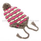 Heißer verkaufender bunter Winterwarmer gestrickter Beanie-Hut/Schutzkappe