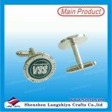 Fábrica de alta calidad de plata Swank Gemelos