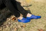 Носки хлопка людей незримые с пяткой геля Silicion