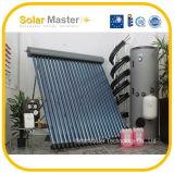 Calentador de agua caliente solar de tipo europeo con el tubo de calor