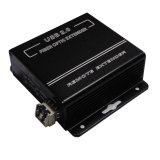 DVI Extender sobre fibra óptica con kilometros Sin compresión real Uhd Transmisión Support (2240)