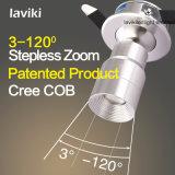Proyector ajustable ahuecado CREE del zoom LED del foco de la MAZORCA con la luz de 3W LED
