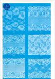 Merletto del ciglio per vestiti/indumento/pattini/sacchetto/caso J011 (larghezza: 4.5cm-23cm)