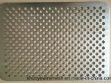Feuille métallique perforée en acier galvanisé