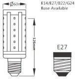 Lâmpada do PLC G24D do bulbo SMD 5-15W do milho do diodo emissor de luz 360 graus