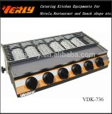 Power-Save Gas Barbecue Oven, Small 6-Heads BBQ Oven (VDK-736)