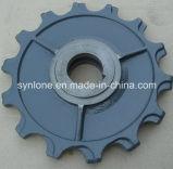 Kundenspezifische Stahlsand-Gussteil-Teile mit der CNC maschinellen Bearbeitung