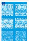 Merletto largo ordinario per vestiti/indumento/pattini/sacchetto/caso 3120 (larghezza: 7cm)
