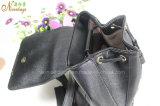 Nouvelle couleur de noir du concepteur 2016 avec le sac à dos en cuir d'unité centrale de cordon
