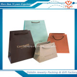 Logotipo feito sob encomenda por atacado saco de papel de compra impresso do saco da jóia