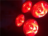 Mágica luz principal movente da face 8X15W do dobro do recolhimento a mini