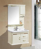 PVC novo Wall Mounted White Bathroom Vanity com Mirror