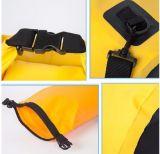 Sacchetto asciutto della tela incatramata impermeabile differente 500d di litro (D307)