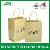 De aangepaste het Winkelen van de Manier Zak van het Document van Kraftpapier van de Gift voor de Verkoop van de Bevordering