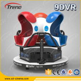 parco a tema Amusement Equipment 5D 6D 7D 9d Xd Cinema di 9d Vr Glasses 3 Seats 360 Degree