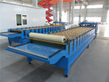 PPGI PPGL glasierte die Stahldach-Fliese-Rolle, die Maschine Hangzhou bildet
