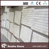 Tuile de mosaïque en pierre de marbre blanche pure chinoise pour le mur