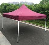 en acier extérieurs de rouge de vin de 3X3m sautent vers le haut la tente se pliante de Gazebo