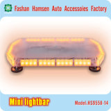 High-Intensity Car Emergency Amber Police Traffice LED Avertissement Mini Lightbar