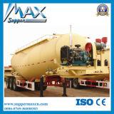 El cemento a granel del tanque del remolque del camión